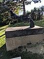 Non-Violence (sculpture), Musée olympique, Lausanne.jpg