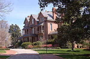 Politics of North Carolina - North Carolina Governor's Mansion