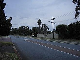 Greenwood, Western Australia - Image: North Greenwood