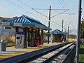 North at passenger platform Murray North station, Aug 16.jpg