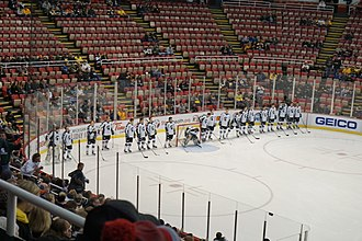 Michigan State Spartans men's ice hockey - The Michigan State Spartans men's ice hockey team at the 2015 Great Lakes Invitational