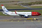 Norwegian (Helge Ingstad livery), LN-DYQ, Boeing 737-8JP (21595984964).jpg
