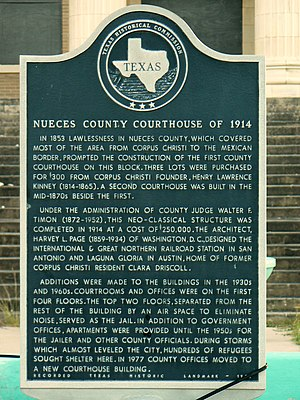 Nueces County Courthouse of 1914