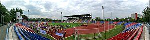Városi Stadion (Nyíregyháza) - Image: Nyíregyháza Városi Stadion, Hungary