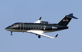 Business jet family by Canadair, later Bombardier