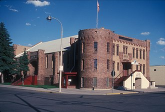 Williams County, North Dakota - Image: OLD ARMORY