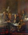 O Marquês de Pombal presidindo ao estudo da reedificação de Lisboa - Miguel Ângelo Lupi (Museu de Lisboa).png
