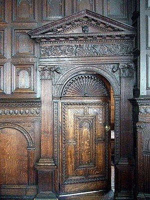 Red Lodge Museum, Bristol - Original Tudor/Elizabethan panelling in the Great Oak Room