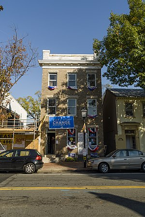 Obama campaign office, Arlington, VA