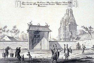 Johan Maurits Mohr - Mohr's observatory from Batavia's Chinese temple.