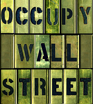 English: artwork for OccupyWallStreet movement