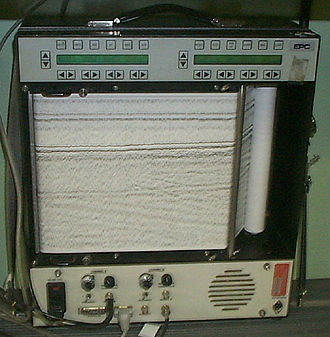 Thermal printing - Thermal printer used in seafloor exploration