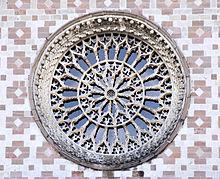 Il Rosone Maggiore, Santa Maria di Collemaggio in L'Aquila