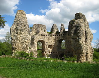 Battle of Neville's Cross - Image: Odiham Castle