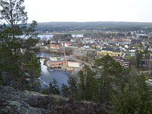 Ørje - View of Ørje