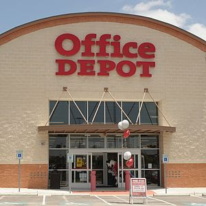 Office Depot - Office Depot's first (now closed) LEED CI store in Austin, Texas