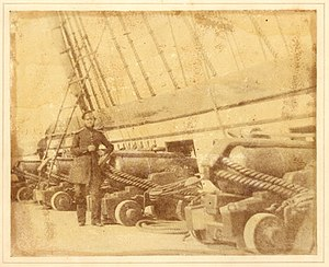 Officer on board the HMS Superb 1845.jpg