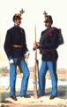 Offizier und Infanterist von Hoch- und Deutschmeister 1867.png