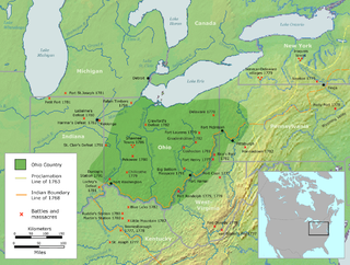 Ohio Country Historical region in North America