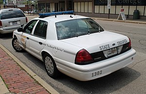 Ford Crown Victoria Police Interceptor - Crown Victoria Police Interceptor with Ohio State Highway Patrol.
