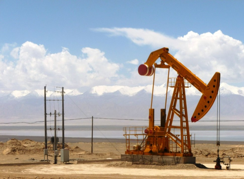 Oil well in Tsaidam