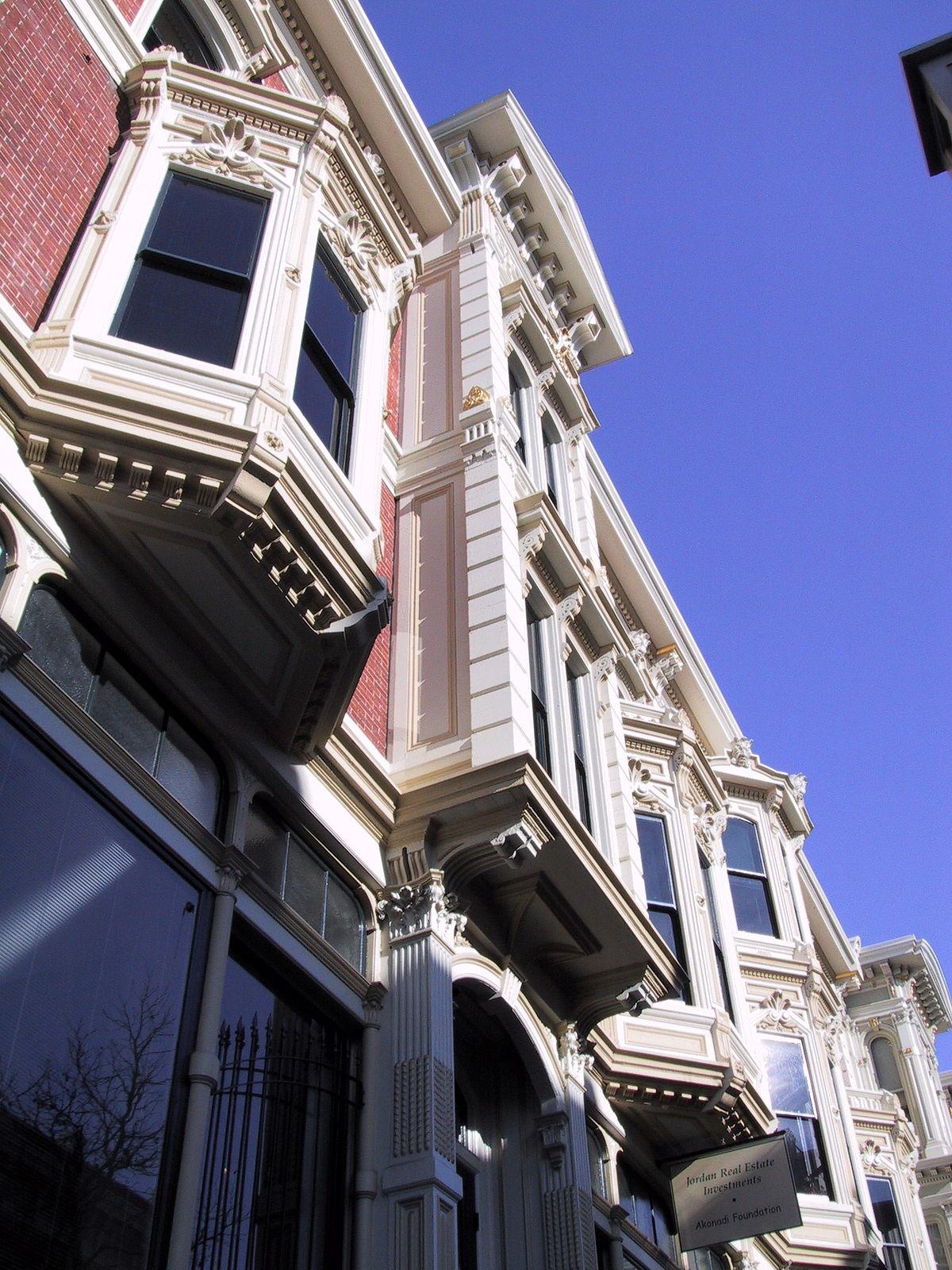 Architecture victorienne wikip dia for Architecture victorienne a londres