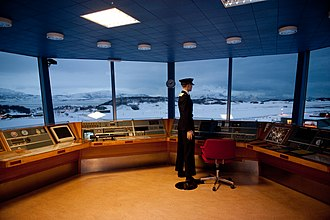 Bodø Main Air Station - The old  control tower in Bodø, now part of the Norwegian Aviation Museum