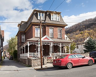 Old Conemaugh Borough Historic District - 1870 W. H. Smith Residence, a Victorian mansion in the district