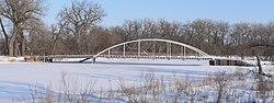Old Elkhorn River bridge at 519 Av from W 3.JPG