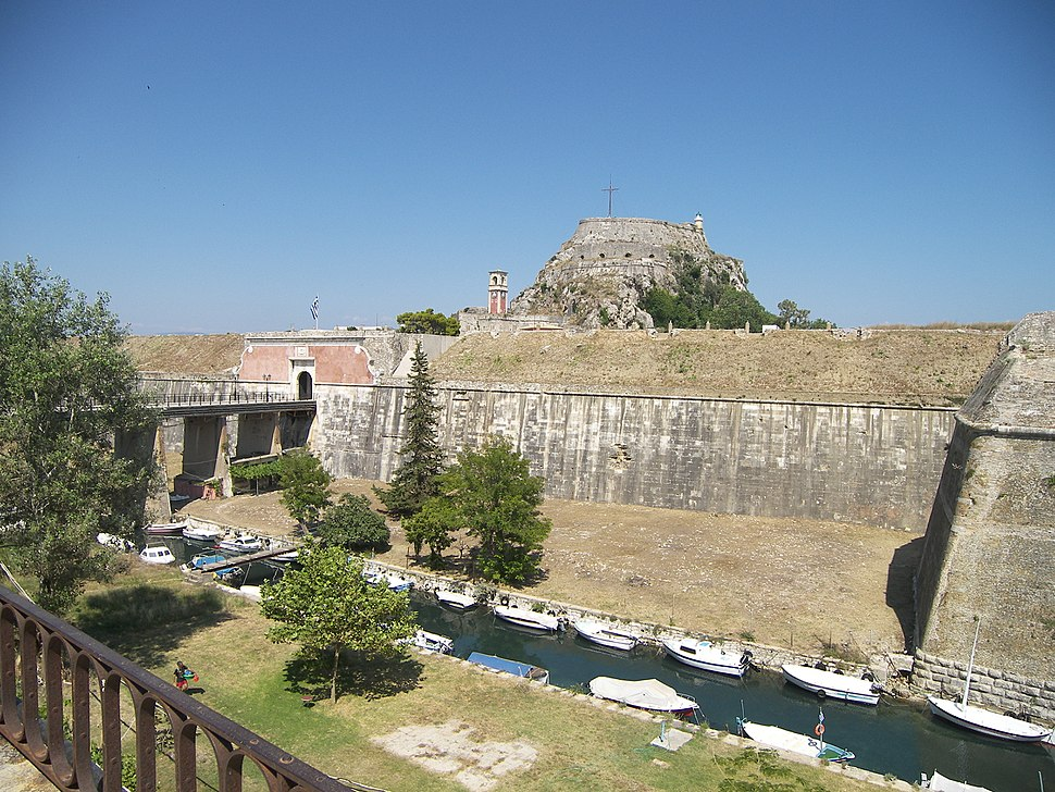 Old Fortress Contrafossa and Bridge