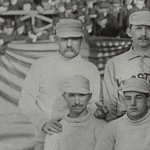 History of the Boston Braves - Image: Old Hoss Radbourn finger