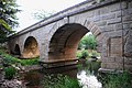 Old Roman bridge at Boisseron, widened by a newer one, but the old is still in use for heavy traffic - panoramio.jpg