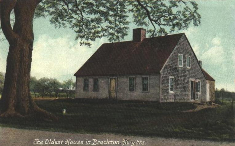 Oldest House in Brockton Heights, MA