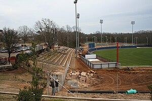 Swayze Field - Image: Ole Miss new Swayze Field construction