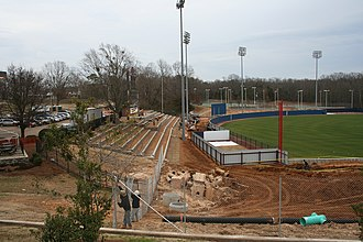Swayze Field - Image: Ole Miss new Swayze Field construction