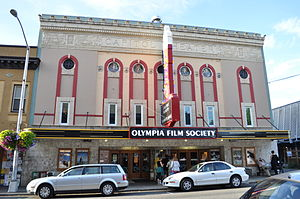 Capitol Theater (Olympia) - The Capitol Theater, home of the Olympia Film Society.