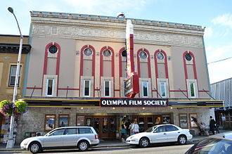 Olympia, Washington - The Capitol Theater, home of the Olympia Film Society.