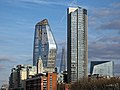 One Blackfriars, OXO Tower, Shard, South Bank Tower and 240 Blackfriars Road.jpg