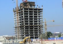 One Business Bay Under Construction on 22 November 2007.jpg