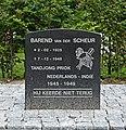 Oorlogsmonumenten in Schoonhoven (4) Barend van der Scheur.jpg