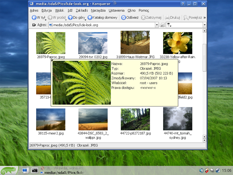Plik:OpenSUSE 10.2 - screenshot 6.png