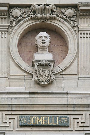 Niccolò Jommelli - Jommelli finds a place among the composers commemorated on the Opéra Garnier, Paris
