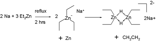 Organozincate reaction Lennartson 2007