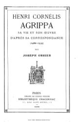 Joseph Orsier: Henri Cornelius Agrippa