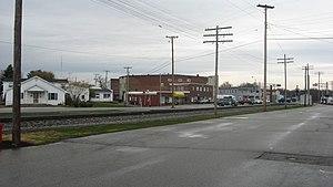 Ohio and Mississippi Railway - Image: Osgood rail line
