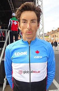 Adam Jamieson Canadian cyclist