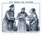 Our Friend the Butcher Armenian Genocide Westminster Gazette.png