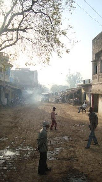 Janghai - Outside image of Janghai JN road towards Handia front