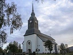 Överkalixs kirke den 2 september 2014