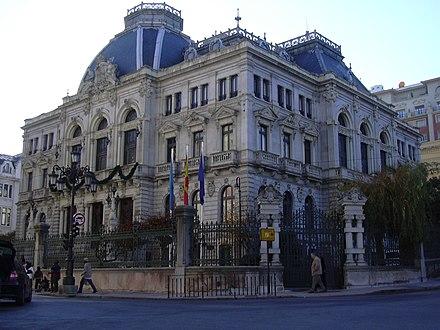 アストゥリアス公国議会のフンタ将軍の議席